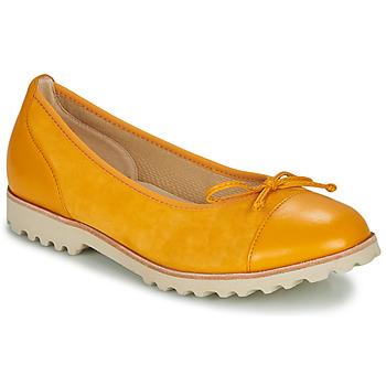 鞋子 女士 平底鞋 Gabor 嘉宝 KRINE 黄色