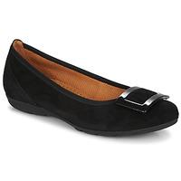 鞋子 女士 平底鞋 Gabor 嘉宝 KITITPI 黑色