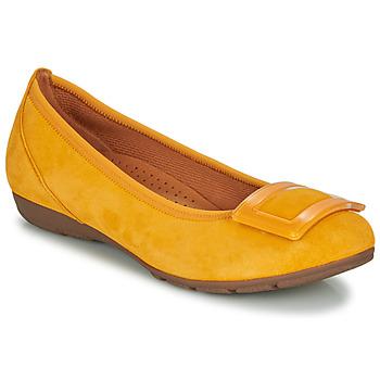 鞋子 女士 平底鞋 Gabor 嘉宝 KASTIPON 黄色