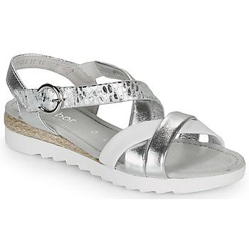 鞋子 女士 凉鞋 Gabor 嘉宝 KRIZI 银灰色