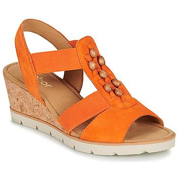 鞋子 女士 凉鞋 Gabor 嘉宝 KALINA 橙色