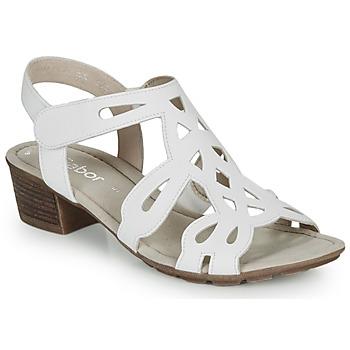 鞋子 女士 凉鞋 Gabor 嘉宝 KELELE 白色