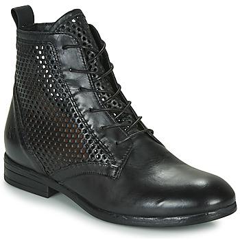 鞋子 女士 短筒靴 Dream in Green MARLO 黑色
