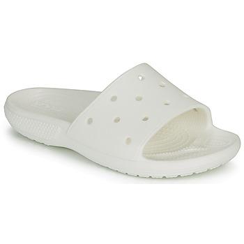 鞋子 拖鞋 crocs 卡骆驰 CLASSIC CROCS SLIDE 白色