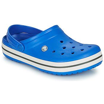 鞋子 洞洞鞋/圆头拖鞋 crocs 卡骆驰 CROCBAND 蓝色 / 灰色