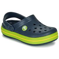 鞋子 儿童 洞洞鞋/圆头拖鞋 crocs 卡骆驰 CROCBAND CLOG K 海蓝色 / 绿色