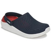 鞋子 洞洞鞋/圆头拖鞋 crocs 卡骆驰 LITERIDE CLOG 海蓝色 / 红色