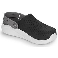 鞋子 儿童 洞洞鞋/圆头拖鞋 crocs 卡骆驰 LITERIDE CLOG K 黑色 / 白色