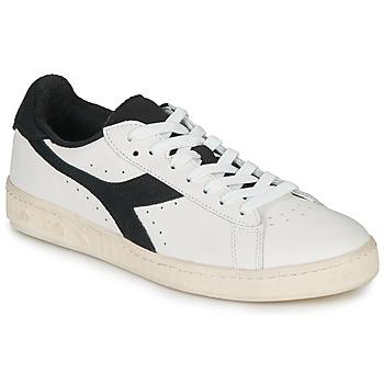 鞋子 球鞋基本款 Diadora 迪亚多纳 GAME L LOW USED 白色 / 黑色