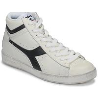 鞋子 高帮鞋 Diadora 迪亚多纳 GAME L HIGH WAXED 白色 / 黑色