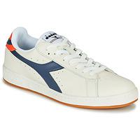 鞋子 男士 球鞋基本款 Diadora 迪亚多纳 GAME L LOW 米色 / 蓝色