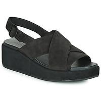 鞋子 女士 凉鞋 Camper 看步 MISIA 黑色