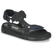 鞋子 男士 凉鞋 Camper 看步 ORUGA 黑色