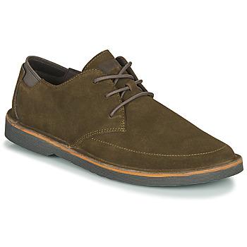 鞋子 男士 德比 Camper 看步 MRRY 卡其色