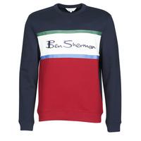衣服 男士 卫衣 Ben Sherman 宾舍曼 COLOUR BLOCKED LOGO SWEAT 海蓝色 / 红色