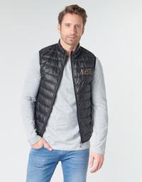 衣服 男士 羽绒服 EA7 EMPORIO ARMANI CORE ID 8NPQ02 黑色 / 金色