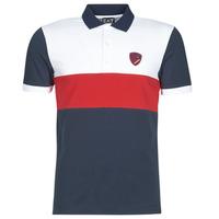 衣服 男士 短袖保罗衫 EA7 EMPORIO ARMANI SEA WORLD ST TROPEZ 海蓝色 / 白色 / 红色