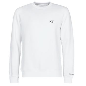 衣服 男士 卫衣 Calvin Klein Jeans CK ESSENTIAL REG CN 白色