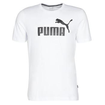 衣服 男士 短袖体恤 Puma 彪马 ESSENTIAL TEE 白色