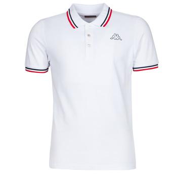 衣服 男士 短袖保罗衫 Kappa 卡帕 ESMO 白色