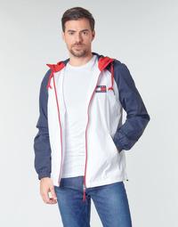 衣服 男士 夹克 Tommy Jeans TJM COLORBLOCK ZIPTHROUGH JCKT 白色 / 蓝色 / 红色
