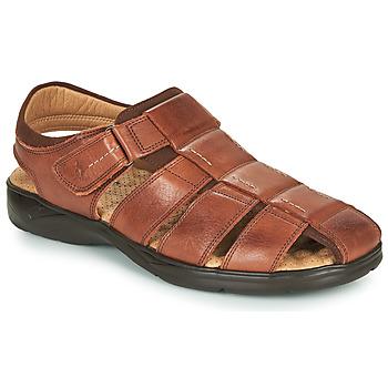 鞋子 男士 凉鞋 Fluchos 富乐驰 DOZER 棕色