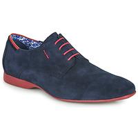 鞋子 男士 德比 Fluchos 富乐驰 VESUBIO 海蓝色 / 红色