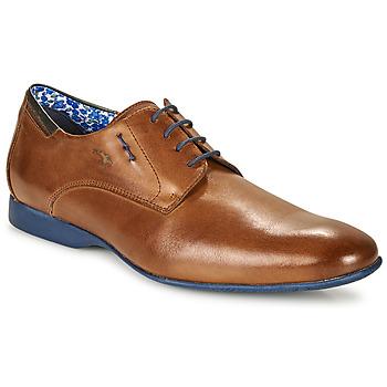 鞋子 男士 德比 Fluchos 富乐驰 VESUBIO 棕色 / 蓝色
