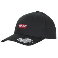 紡織配件 鴨舌帽 Levi's 李維斯 MID BATWING FLEXFIT 黑色