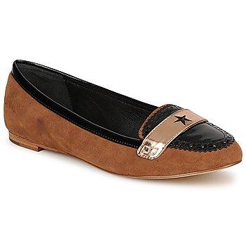 鞋子 女士 皮便鞋 C.Petula KING 驼色