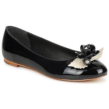 鞋子 女士 平底鞋 C.Petula MUCHACHA 黑色