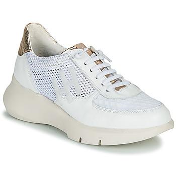 鞋子 女士 球鞋基本款 Hispanitas CUZCO 白色 / 金色 / 玫瑰色