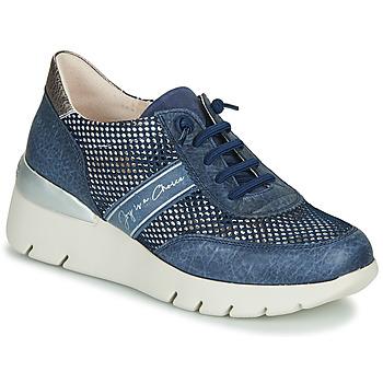 鞋子 女士 球鞋基本款 Hispanitas RUTH 蓝色 / 金色 / 银灰色