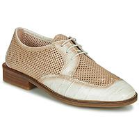鞋子 女士 德比 Hispanitas LONDRES 米色 / 白色