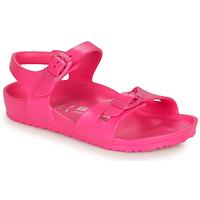 鞋子 女孩 凉鞋 Birkenstock 勃肯 RIO EVA 粉色
