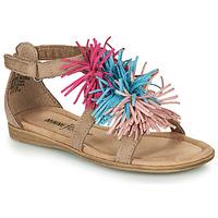鞋子 女孩 凉鞋 Minnetonka ELOISE 灰褐色