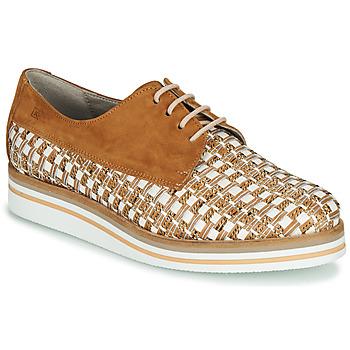 鞋子 女士 德比 Dorking ROMY 棕色 / 白色