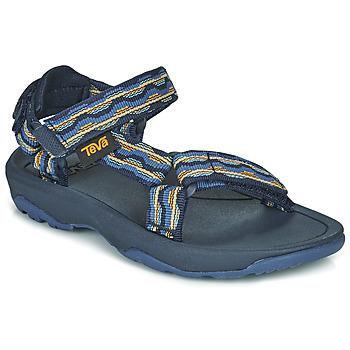 鞋子 男孩 凉鞋 Teva HURRICANE XLT2 蓝色 / 海蓝色