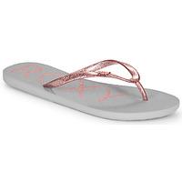 鞋子 女士 人字拖 Roxy 罗克西 VIVA SPARKLE 灰色 / 玫瑰色