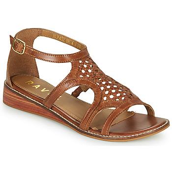 鞋子 女士 凉鞋 Ravel CARDWELL 茶色