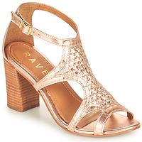 鞋子 女士 凉鞋 Ravel COREEN 玫瑰色 / 金色