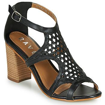 鞋子 女士 凉鞋 Ravel COREEN 黑色