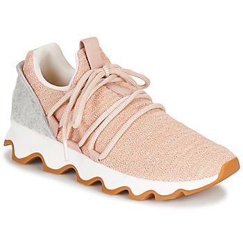鞋子 女士 球鞋基本款 Sorel KINETIC LACE 玫瑰色