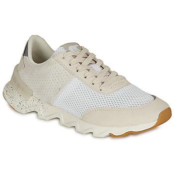 鞋子 女士 球鞋基本款 Sorel KINETIC LITE LACE 白色
