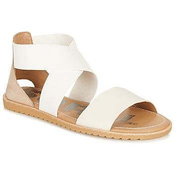 鞋子 女士 凉鞋 Sorel ELLA SANDAL 白色 / 米色