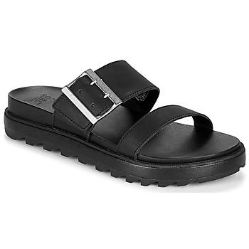 鞋子 女士 凉鞋 Sorel ROAMING BUCKLE SLIDE 黑色