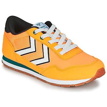 鞋子 儿童 球鞋基本款 Hummel REFLEX JR 黄色