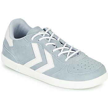 鞋子 儿童 球鞋基本款 Hummel VICTORY JR 灰色