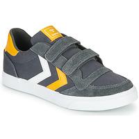 鞋子 儿童 球鞋基本款 Hummel STADIL LOW JR 灰色
