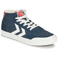 鞋子 男士 高帮鞋 Hummel STADIL 3.0 CLASSIC HIGH 蓝色